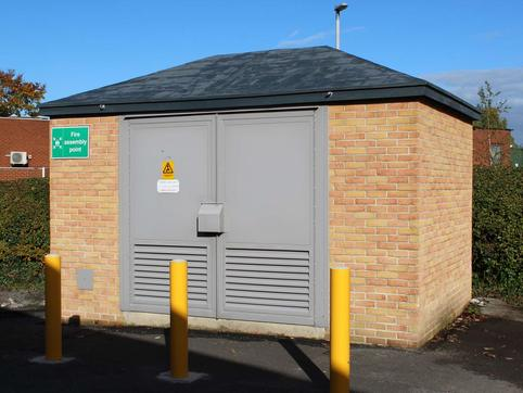 Electrical Substation, Wetherby - Completed