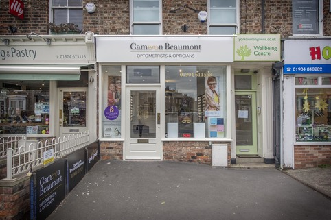 Cameron Beaumont, York - Refurbished Shop Front